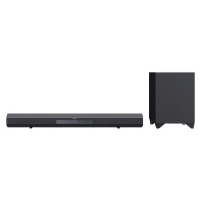 Sony Sound Bar and Wireless Subwoofer - Black (HTCT260H)