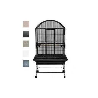 A & E Cage Company Black Palace Dometop Bird Cage, 32