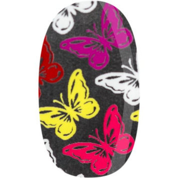Skinz Nail Decals 24 Count Multi-Color Butterflies