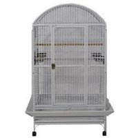 A & E Cage Medium Stainless Steel Dome Top Bird Cage