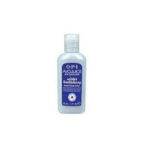 OPI Avojuice Skin Quenchers Winter Huckleberry Hand Body Lotion 1oz (30ml)