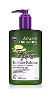 Avalon Organics Brilliant Balance With Lavender & Prebiotics Cleansing Gel
