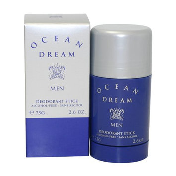 Ocean Dream Ltd By Designer Parfums Ltd For Men. Alcohol Free Deodorant Stick 2.6-Ounces