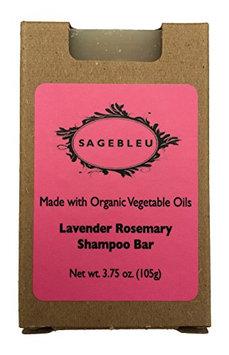 Sagebleu Shampoo Bar Made with Organic Vegetable Oil