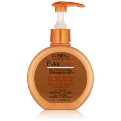 L'Oréal Paris EverSleek Sulfate-Free Smoothing System Humidity Defying Leave-In Creme