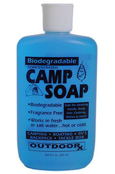Outdoor RX Biodegradable Concentrated Fragrance Free Camp Soap