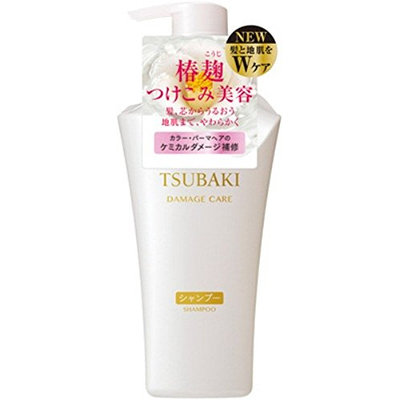 TSUBAKI Shiseido Damage Care Shampoo Pump
