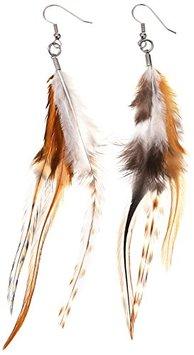 Mia Feather Earrings