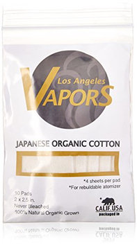 Los Angeles Vapors Organic Japanese Cotton 10 Count Unbleached