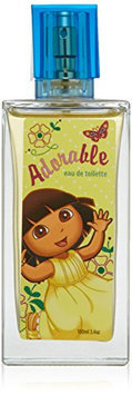 Dora The Explorer by Nickelodeon For Women. Adorable Eau De Toilette Spray 3.4 Oz / 100 Ml.