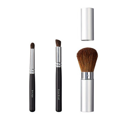 ON&OFF Trio Smudge/Slope and Take Along Face Brush
