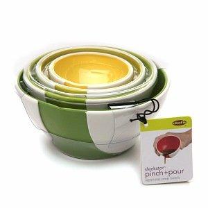 Chef'n Pinch + Pour Prep Bowls
