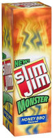 Slim Jim  Monster Size  Honey BBQ  Sticks