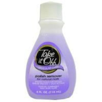 NAIL POLISH REMOVER REGULAR , TAKE IT OFF 10 OZ