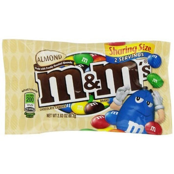 M&M'S® Almond Chocolate Candy Sharing Size