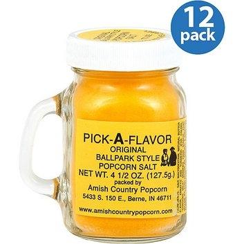 Amish Country Popcorn Pick-A-Flavor Original Ballpark-Style Popcorn Salt