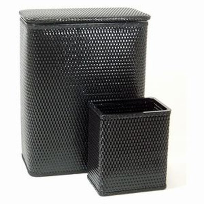Redmon Chelsea Collection Full Size Hamper and Wastebasket