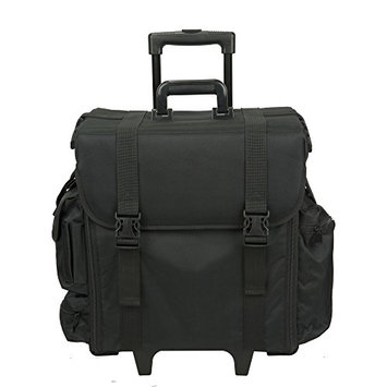 Hiker Professional Carry On Soft Sided Makeup Rolling Case
