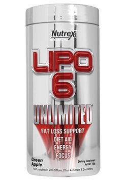 Nutrex Research LIPO-6 Unliimited Green Apple 4.8 oz