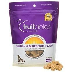 Fruitables Dog Treats Pumpkin & Blueberry 7 oz