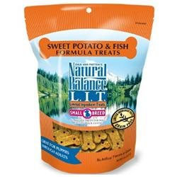 Tural Balance Pet Foods Inc Natural Balance Limited Ingredient Treats - Fish & Sweet Potato Formula