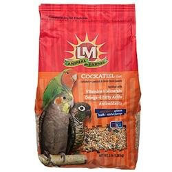 L & M Animal Farms LM Animal Farms Cockatiel Diet Bird Food