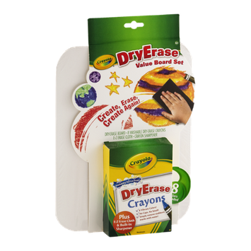 Crayola DryErase Value Board Set