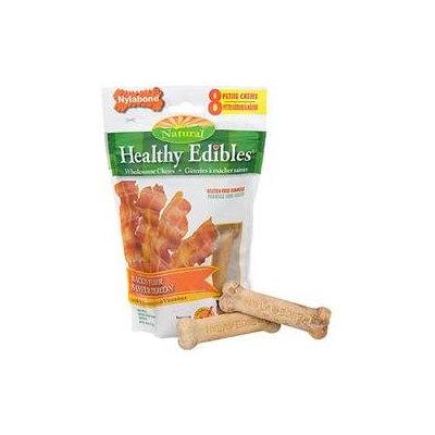 Nylabone Corp bones Nylabone Healthy Edibles Bones Bacon Xsmall - NEB801M