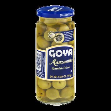 Goya Manzanilla Spanish Olives