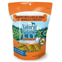 Natural Balance Limited Ingredient Treats - Fish & Sweet Potato Formula