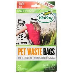 BioBag Biodegradable Dog Waste Bags Large 35 Bags/Box