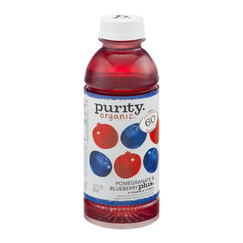 Purity Organic Flavored Juice Drink Pomegranate & Blueberry Plus