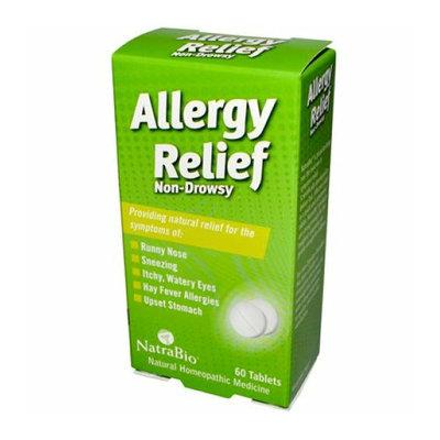 NatraBio Allergy Relief Non-Drowsy 60 Tablets
