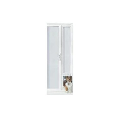 Ideal Pet Products 94VIP150X VIP XLarge 96 in. Vinyl Patio Door