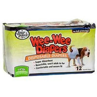 Four Paws Large Wee-Wee Disposable Dog Diapers