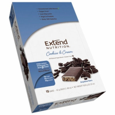 Extend Bar Anytime Bars, Cookies & Cream, 15 ea