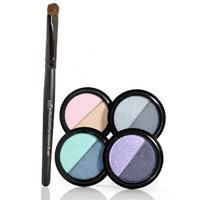 e.l.f. Duo Eyeshadow with Brush Set