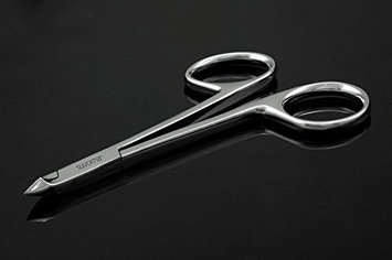 Suvorna Professional Nail Nipper with Scissors Style Handle Manipro M77