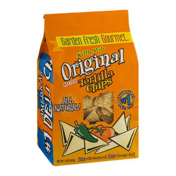 Garden Fresh Gourmet Kettle Style Original Salted Tortilla Chips