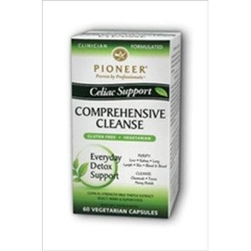 Pioneer Celiac Support Comprehensive Cleanse -- 60 Vegetarian Capsules