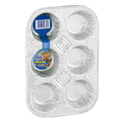Hefty EZ Foil Muffin Pans - 2 CT