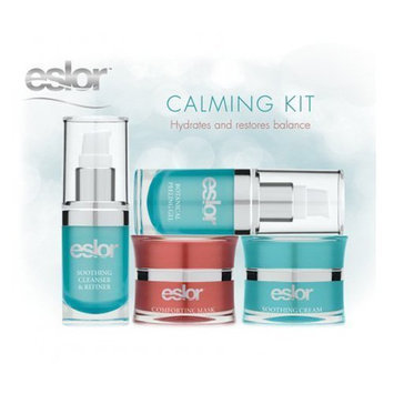Eslor Calming Kit Formulated with a Selection of Natural Ingredients & Botanical Extracts Known to Calm Inflammation While Hydrating & Restoring Balance to the Skin