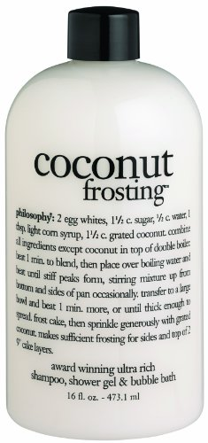 Philosophy Coconut Frosting Shampoo/Shower Gel/Bubble Bath