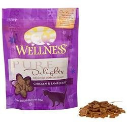 Wellness Pure Delights Cat Treats - Chicken & Lamb