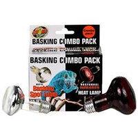 Zoo Med Laboratories SZMSRC1 75 watts Day Night Basking Bulb Combo Pack