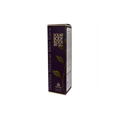 Devita Natural Skin Care Solar Body Block SPF 30+