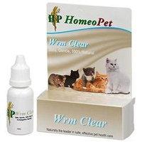 Homeopet Llc Homeopet WRM Clear Feline Remedy - 15 ml.