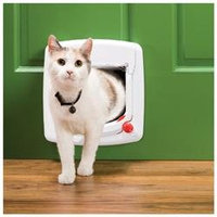 Staywell Products Ppa00-11324 Cat Flap Magnetic White 4Way Lock