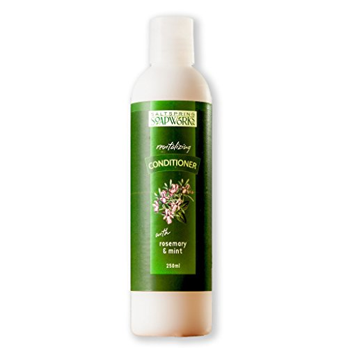 Saltspring Soapworks All Natural Rosemary Mint Conditioner