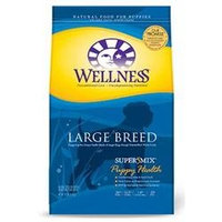 Wellpet Llc Wellpet OM89114 Large Wellness Super5Mix Breed Puppy Dry Dog Food 15 lb